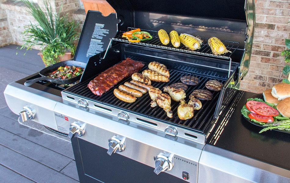 Barbecue-gaz
