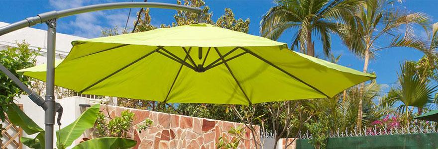 Les avantages du parasol déporté